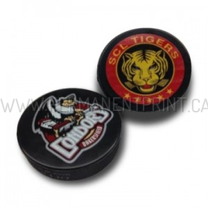 Full Color Printed Hockey Pucks Toronto
