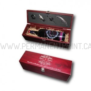 Printed Custom Wine Keepsake Box Toronto