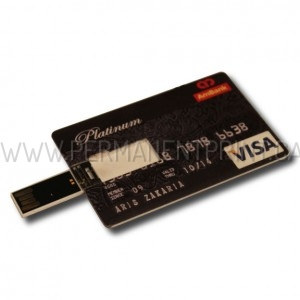 Printed Credit Card USB Drive