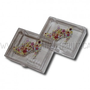 Personalized Clear Plastic Boxes
