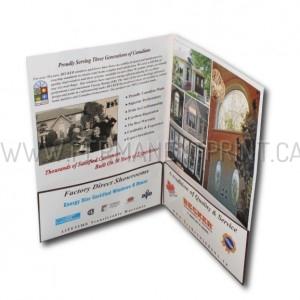 Presentation Folders Printing Toronto