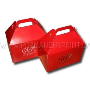 Printing on Gable Boxes