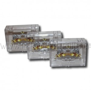 PRINTING ON CLEAR PLASTIC BOXES