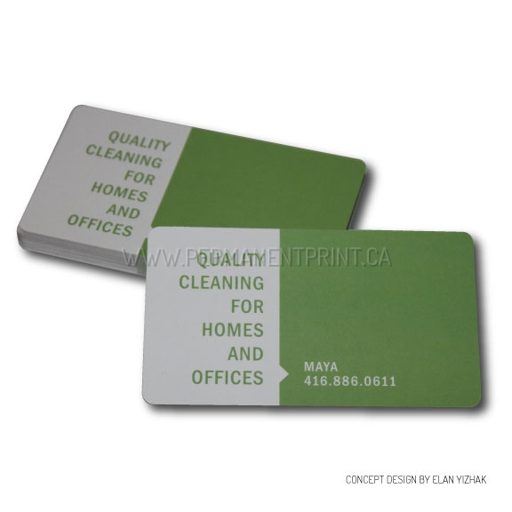 Plastic coated business cards permanent print plastic coated business cards colourmoves