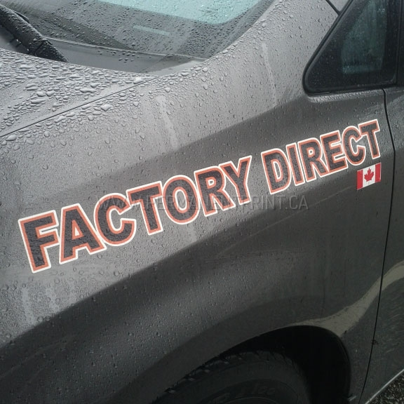 Toronto car decals