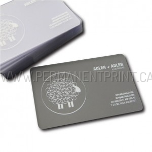 Toronto Frosted Business Cards