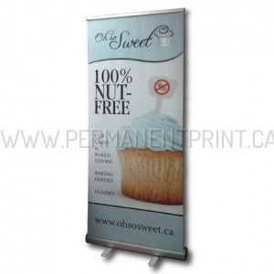 Toronto Roll-Up Banner Stand