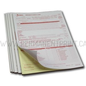 Toronto Drivers Log Book Printing