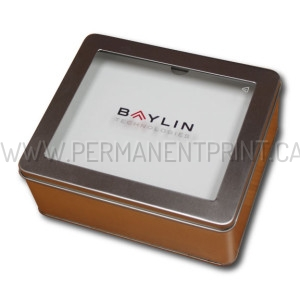 Printed Metal Gift Box
