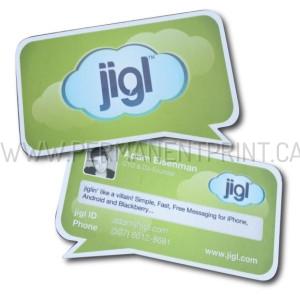 Custom Shape Business Cards