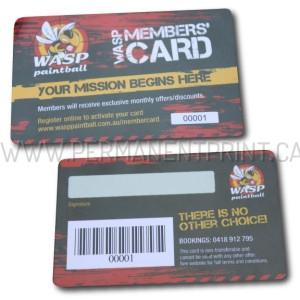 Plastic Membership Cards Printing Toronto