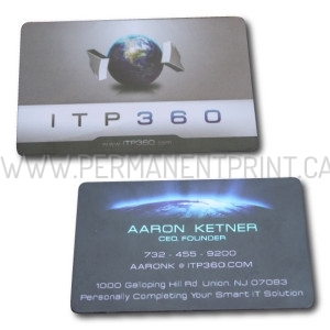 Foiled Plastic Business Cards