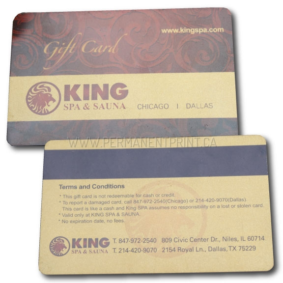 Plastic gift cards printing toronto permanent print plastic gift card printing toronto reheart Image collections