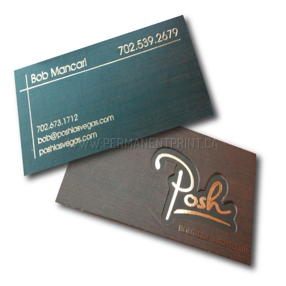 Thick Business Cards Printing Toronto PERMANENT PRINT