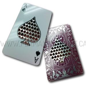 Laser Cut Metal Cards