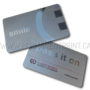 Printed Metal Business Cards